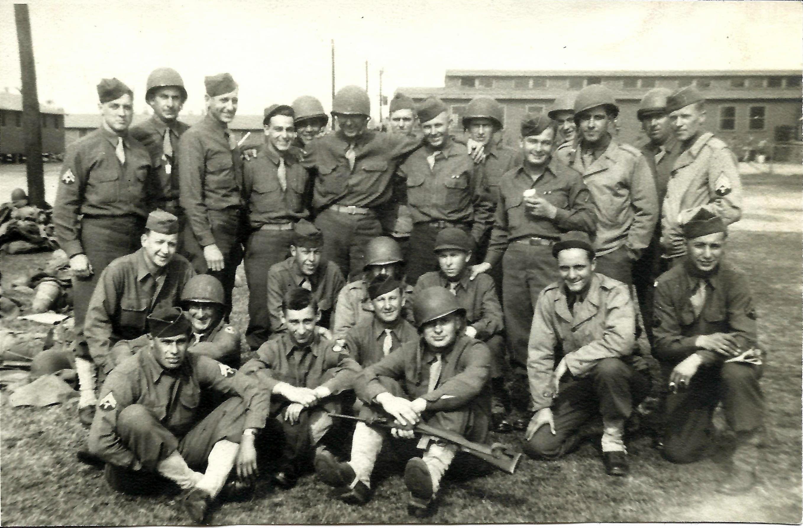band of brothers michael van kerckhove my grandfather frank van kerckhove kneeling 2nd from right his