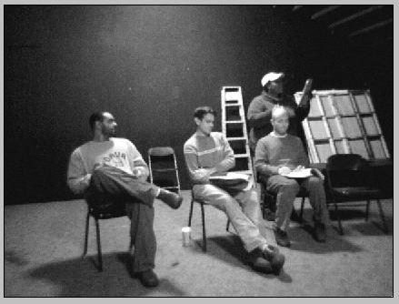 The Lulu reading cast, 2004: Derrick Cole, Michael Rashid, Josh Sumner, Michelle Taylor
